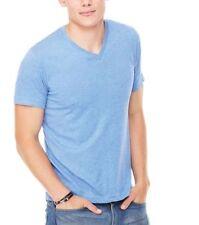 V Neck Short Sleeve Basic Big & Tall T-Shirts for Men