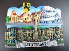 Stuttgart Germany Souvenir Magnet,Poly,Schloßplatz,Mercedes Museum,Neu