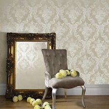 Julien Macdonald by Graham & Brown GLIMMOROUS WALLPAPER Taupe 31-162 NEW
