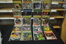 EERIE 71 ISSUE LOT #'S BETWEEN 2-126. (#17 4.0 THE OTHERS ARE 6.0 TO 9.2)! LIST