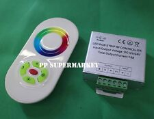 New 18A 5 Key Dimmer RF Touch Controller Panel Wireless Remote For RGB LED Strip