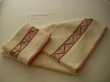 BIANCA COLLECTION BATH SHEET & HAND TOWEL COLOUR CALYPSO ROSE (NEW WITHOUT TAG