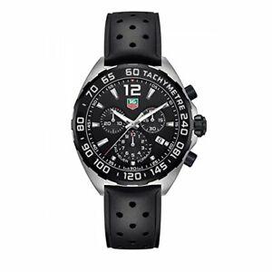 Orologio Uomo Tag Heuer CAZ1010.FT8024 Cronografo Formula 1 - Cinturino in Gomma