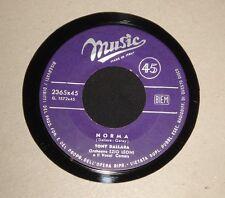 TONY DALLARA - TU CHE SAI DI PRIMAVERA / NORMA 45 - ITALIAN 1963  POP