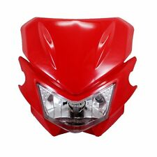 Red 35W Off Road Dirt Bike Motorcycle Headlight Lamp For Honda Streetfighter CRF