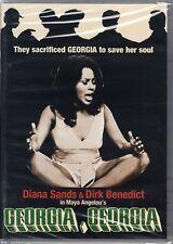 GEORGIA, GEORGIA Diana Sands *DVD NEW RARE* Dirk Benedict MAYA ANGELOU Scorpion