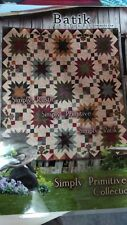 PRAIRIE SKY Batik 62 X 62 Lap Quilt Kit -- Multi