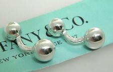 Tiffany&Co  Sterling Silver Bead Cufflinks
