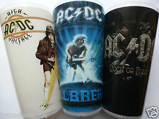 3 Becher / Cups - Rock or Bust Tour 2016 - AC/DC - ACDC -Alle 3 Tourbecher - TOP