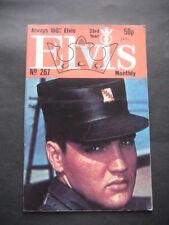ANTIGUA REVISTA ELVIS PRESLEY Nº 267. ABRIL 1982