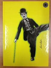 CHARLIE CHAPLIN - A4 Journal Diary Notebook - yellow