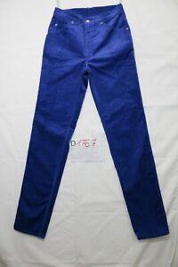 Levi's 821 blu velluto white tab nuovo (Cod.D1767) W30 L34  grado A