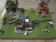 Halloween Village Display Platform Base Hw34 For Lemax Dept56 Dickens + More