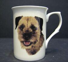 Border Terrier DOG Head B/F Fine Bone China Mug Cup Beaker