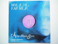 Mylene Farmer Maxi 33Tours vinyle promo L'ame Stram Gram