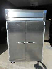 McCall 2 dr. Commercial Freezer, 115v, Casters, 8 shelves, Impeccable Condition!