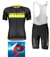 Divisa estiva TEAM SCOTT RC Cycling Set 9d Gel Pad