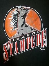 IDAHO STAMPEDE T SHIRT vtg 90s 00s Signed NBA D League Basketball Jerzees Men XL