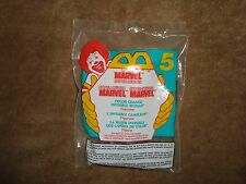 Mcdonald's 1996 Marvel super Heroes Color Change Invisible Woman #5 NIP