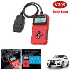 V309 Car Code Scanner Tester Universal OBDII Display Diagnostic Instrument Tool
