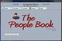 The People Book 2020 Software v5.2  Name, Address & Phone Database for Windows
