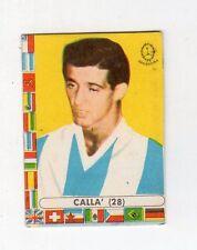 [RCL] FIGURINA LAMPO CALCIATORI CILE 1962 ARGENTINA NUMERO 28 CALLA'