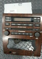 2010 Nissan Titan Radio Control Panel & Radio Unit Rockford Fosgate OEM Visteon