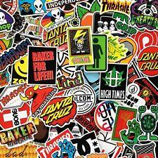 Glossy Skate Stickers - Skate Brand Stickers - Bundles & Singles -100 Designs