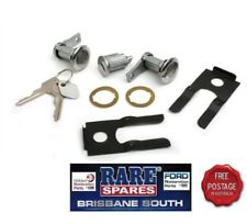 FORD FALCON XL XM XP IGNITION BARREL 2 DOOR LOCKS MATCHED KEYS RARE SPARES