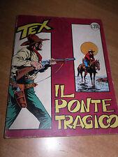"""TEX WILLER N°40  """"IL PONTE TRAGICO"""" SERIE TRE STELLE CON RARO POSTERINO"""