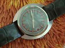 vintage Iaxa Cortebert electromechanische Uhr, Edelstahl  - Top Zustand!!!