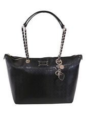 GUESS Shannon Tote Black Gold