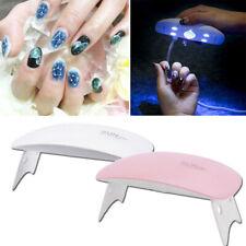 Nail Lamp Mini Uv Led Light 6W Portable Usb Nail Dryer for Gel Nail Art Tools