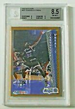 1992-93 Fleer Shaquille O'neal RC BGS 8.5 #401 Orlando Magic
