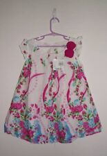 Sz 5T GEORGE KIDS Floral PARTY DRESS FreeFall Sleeveless Summer Cool BNWT