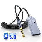 Baseus Aux Bluetooth Adapter Dongle Cable 3.5MM Jack Aux Bluetooth 5.0 Receiv F~