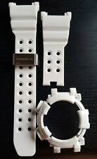 brand new white band and bezel for casio g shock frogman GWF-D1000
