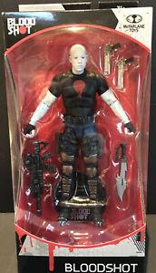 "Bloodshot Vin Diesel Movie 7"" Action Figure Stand McFarlane Toys 2019 Ages 14+."