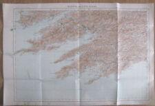 Ordnance Survey Ireland original antique Bantry & Cape Clear map 1913 Sheet 24
