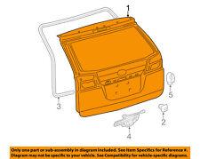 TOYOTA OEM 11-16 Sienna-Liftgate Tailgate Hatch Panel Skin 6700508090