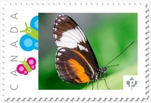 BUTTERFLY Isabella = postage stamp MNH Canada 2018 [p18-09-19]