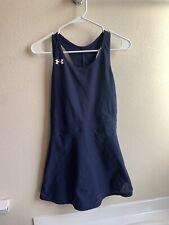 Under Armour Navy Blue Tennis Center Court Dress Women's Size Medium