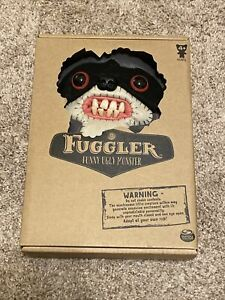 "Fuggler Bandit Gray Black Mask Funny Ugly Monster Plush Raccoon 9"" NEW Plush Toy"