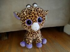 "JUMBO TY BEANIE BOOS - SAFARI the 17"" GIRAFFE with TAG - SEE PICS"