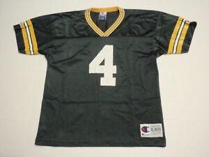 Brett Favre Green Bay Packers NFL Champion Jersey Boys Extra Large (18-20) #4