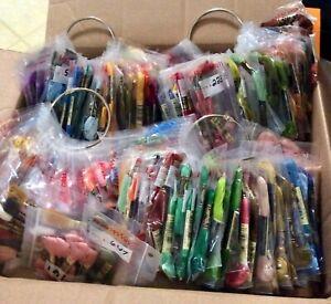 DMC Embroidery Floss Thread 326 Skeins 177 Wound Bobbins 3 Storage Cases + More