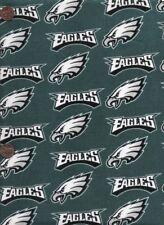 NFL Philadelphia Eagles Cotton Fabric 4 Pieces 12