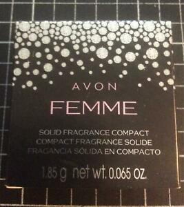 NEW AVON FEMME SOLID FRAGRANCE COMPACT 1.85g