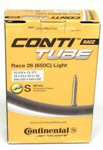 Continental Light 650 x 18-25mm 60mm Presta Valve Tube