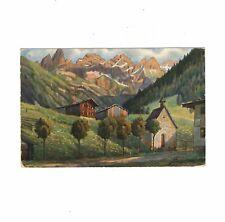 Foto AK Feldpost Einödsbach bei Oberstdorf - 1943